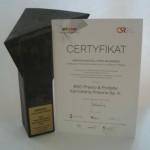 Arinova Social Open Business, Certyfikat